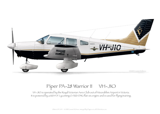 Piper pa 28 warrior grubby fingers shop for Vh design